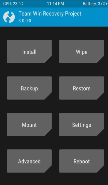 TWRP - TeamWin Recovery